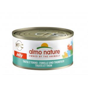 Almo Nature HFC Jelly Forelle und Thunfisch