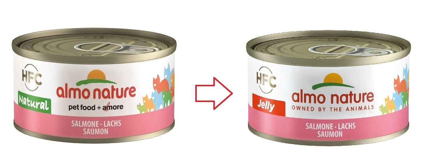 Almo Nature HFC Jelly Lachs nr. 5029H