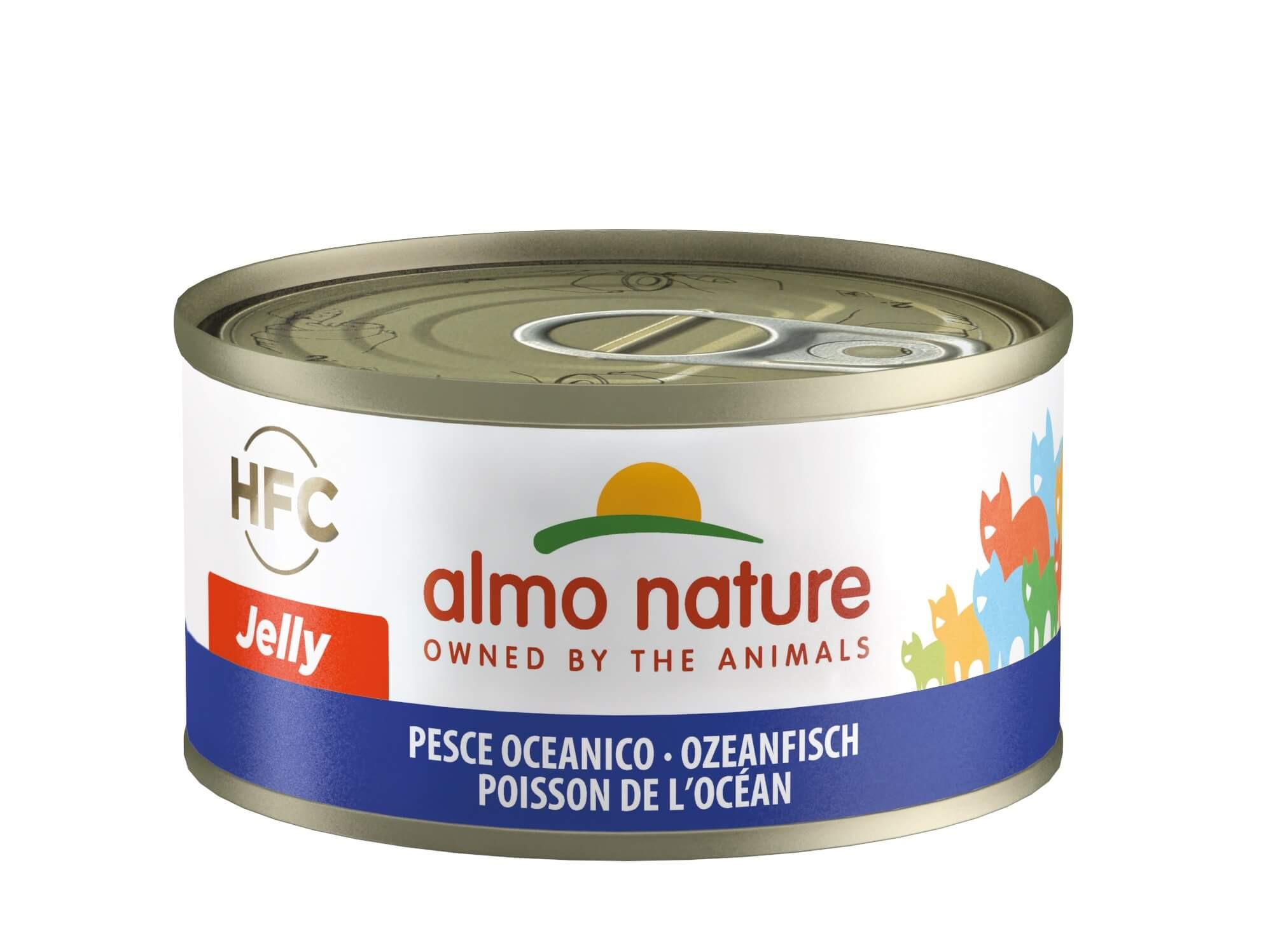 Almo Nature HFC Jelly Ozeanfisch Katzenfutter