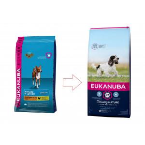 Eukanuba Mature & Senior Mittelgroβe Rassen Hundefutter