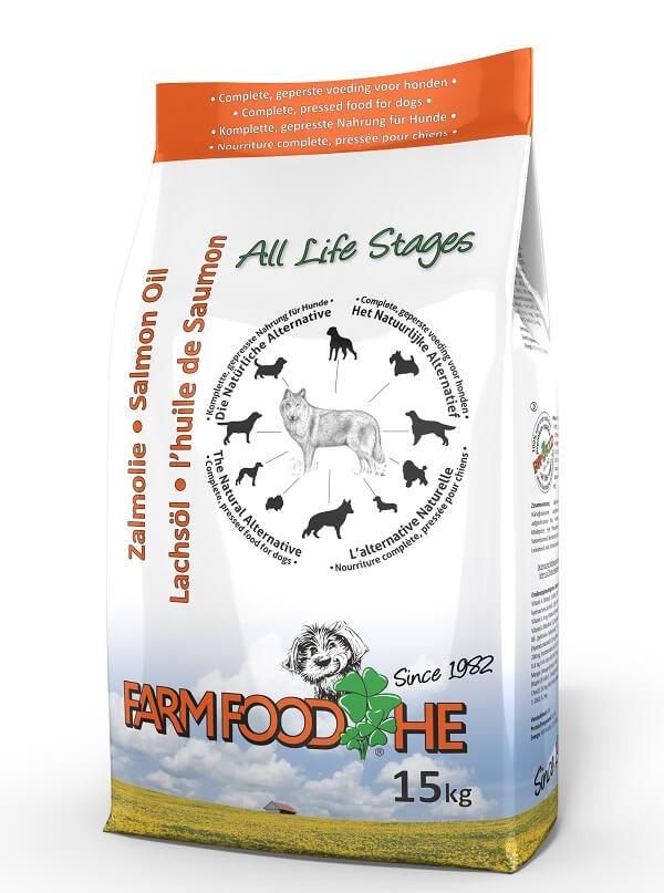 Farmfood HE mit Schottisches Lachsöl Hundefutter