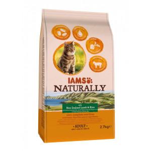 Iams Naturally Adult Lamm & Reis Katzenfutter