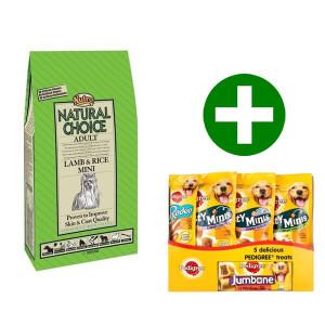Nutro Choice Adult Mini Lamm & Reis Hundefutter