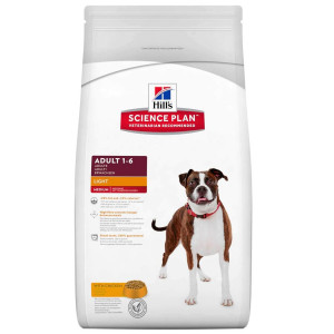 Hill's Adult Light Huhn Hundefutter