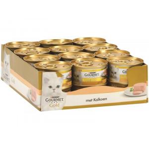 Gourmet Gold Mousse Truthahn Katzenfutter