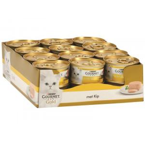 Gourmet Gold Mousse Huhn Katzenfutter