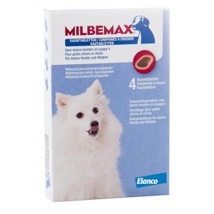 Milbemax Kautabletten für kleine Hunde und Welpen