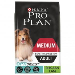 Pro Plan Optidigest Medium Adult Sensitive Digestion Lamm Hundefutter