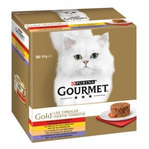 Gourmet Gold 8-pack herzhaftes Türmchen