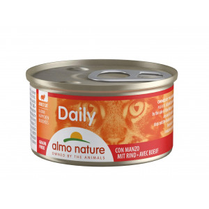 Almo Nature Daily Happen mit Rind 85 Gramm