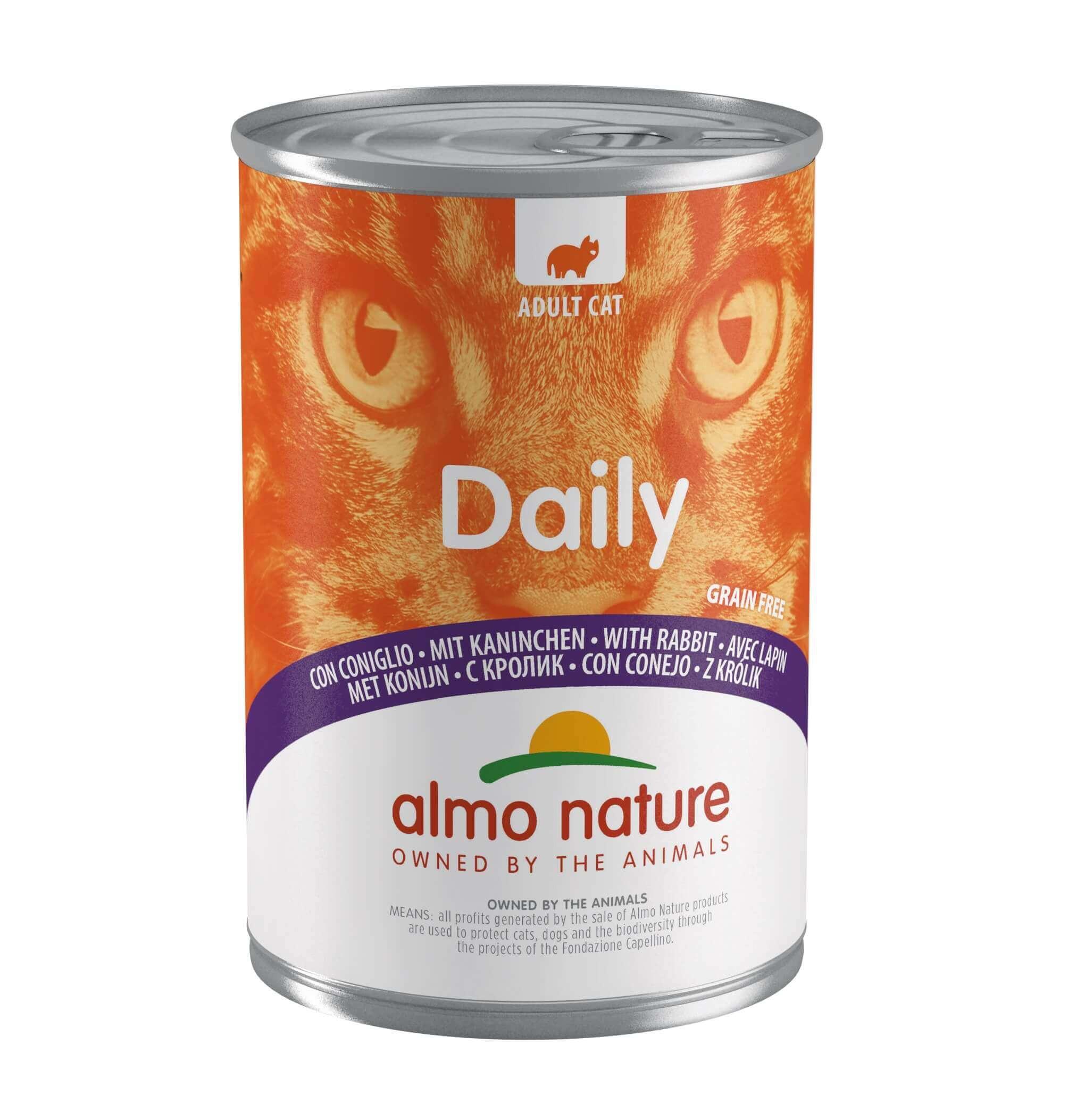 Almo Nature Daily Kaninchen 400 Gramm