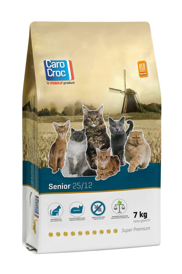 CaroCroc 25/12 Senior Katzenfutter