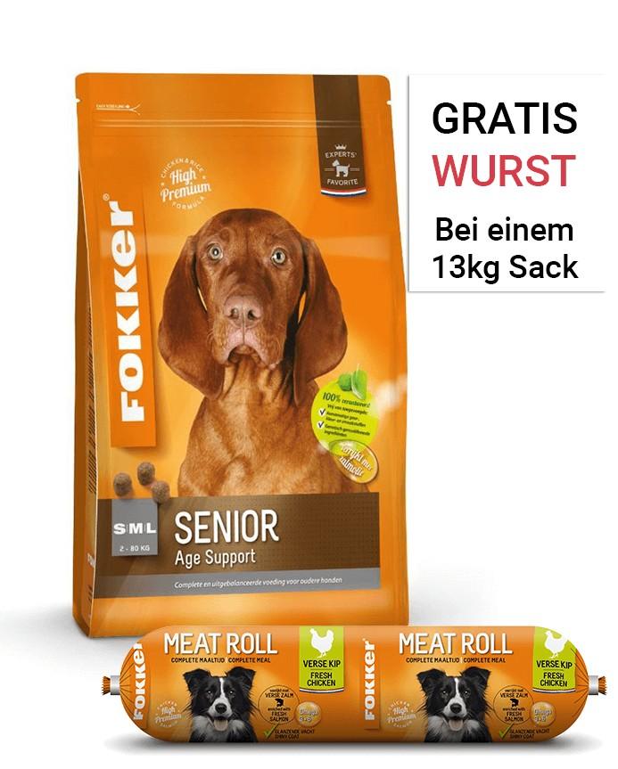 Fokker Senior Hundefutter