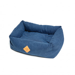 Elba Hundebett blau