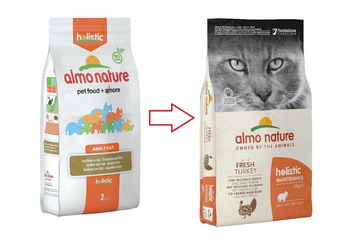 Almo Nature Holistic Cats Adult Truthahn und Reis Katzenfutter