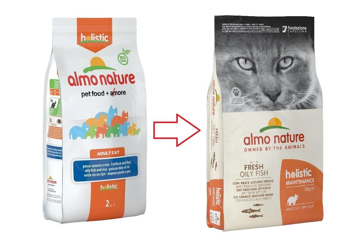 Almo Nature Holistic Cats Adult Weißer Fisch Katzenfutter