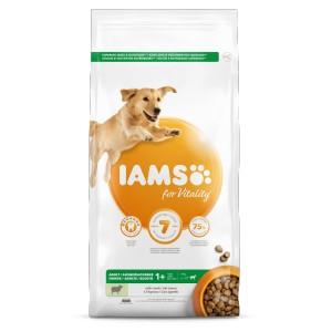 Iams for Vitality Adult Lamm Große Rassen Hundefutter 2 x 3 kg