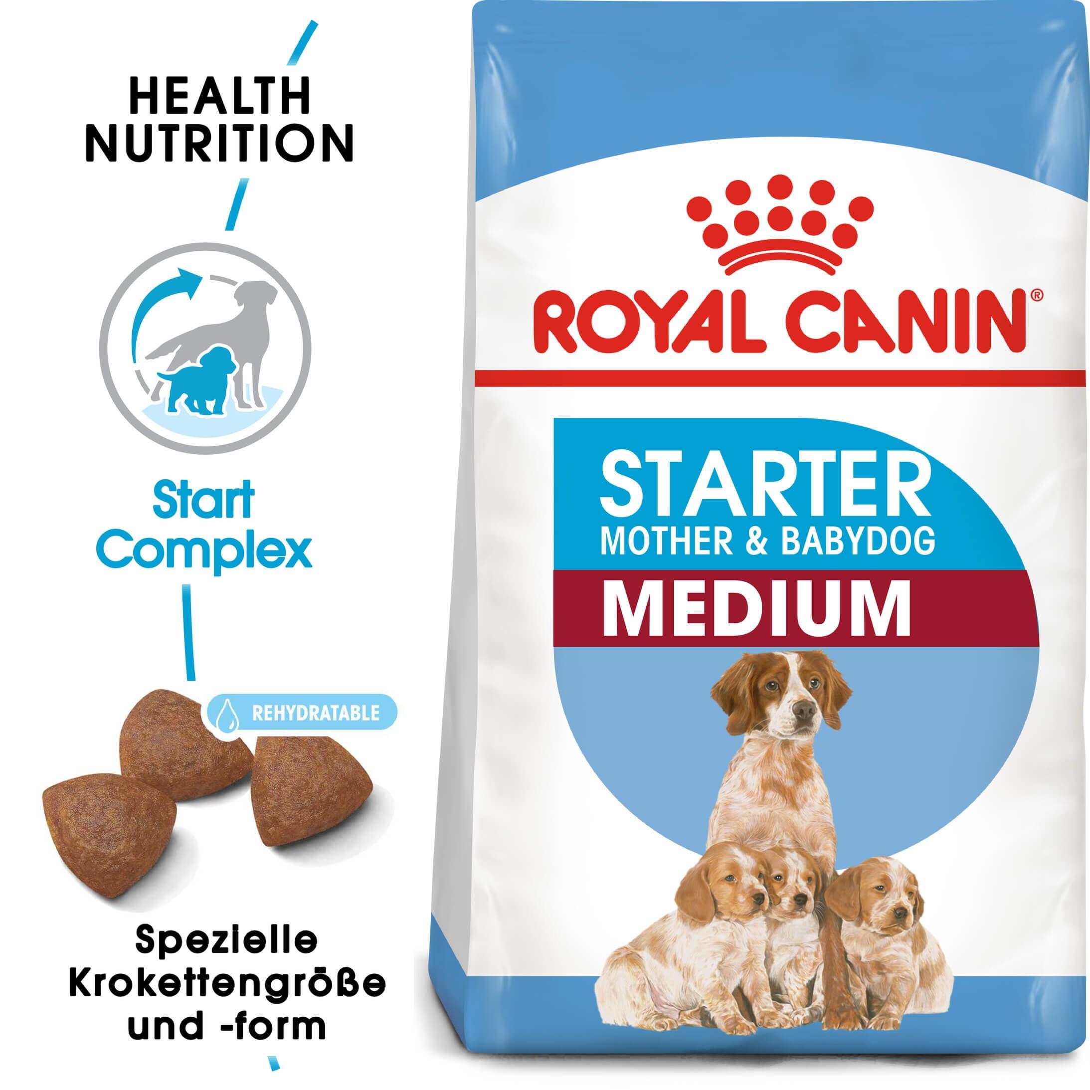 Royal Canin Medium Starter Mother and Babydog