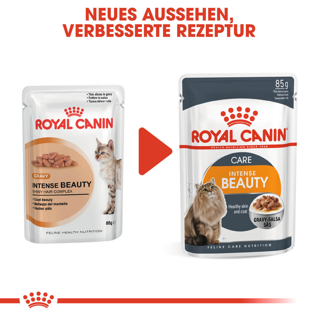 Royal Canin Intense Beauty Katzen-Nassfutter x12