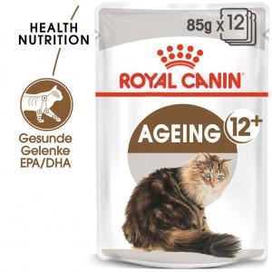 Royal Canin Ageing +12 Katzen-Nassfutter x12