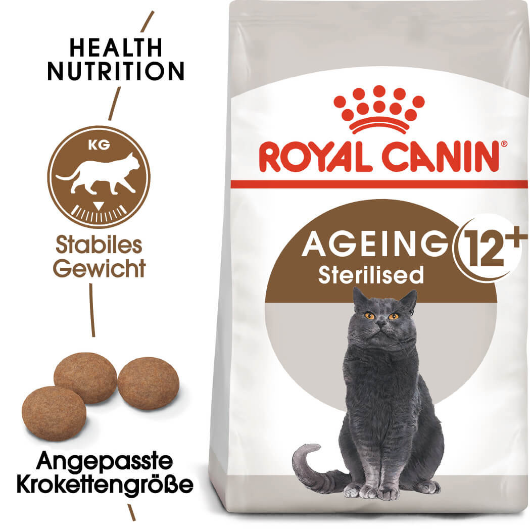 Royal Canin Sterilised Ageing +12 Katzenfutter