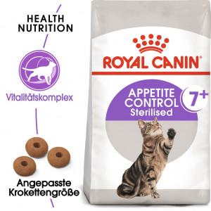 Royal Canin Sterilised Appetite Control 7+ Katzenfutter