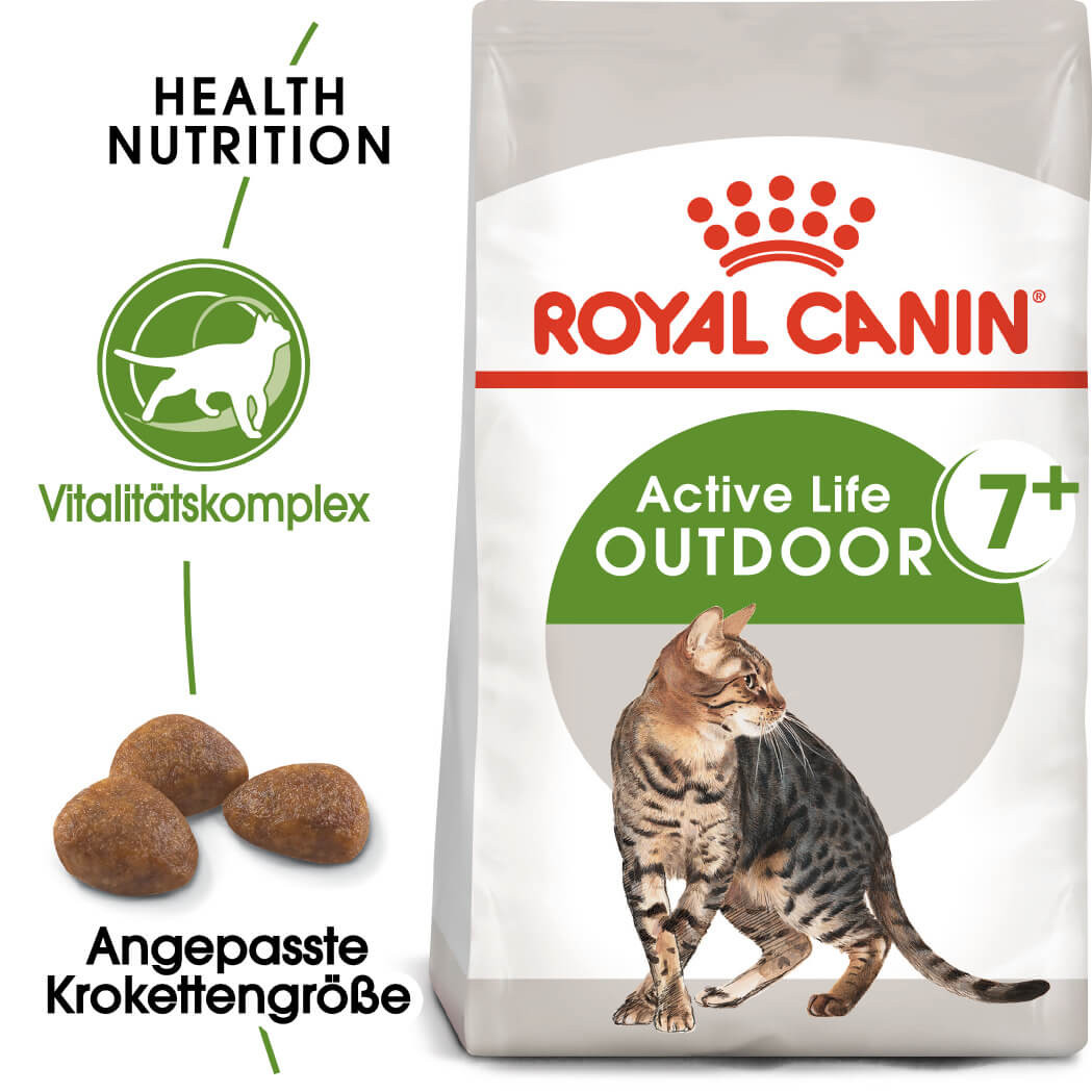 Royal Canin Outdoor 7+ Katzenfutter