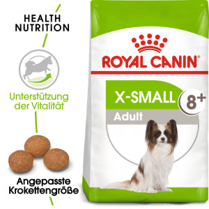 Royal Canin X-Small Adult 8+ Hundefutter