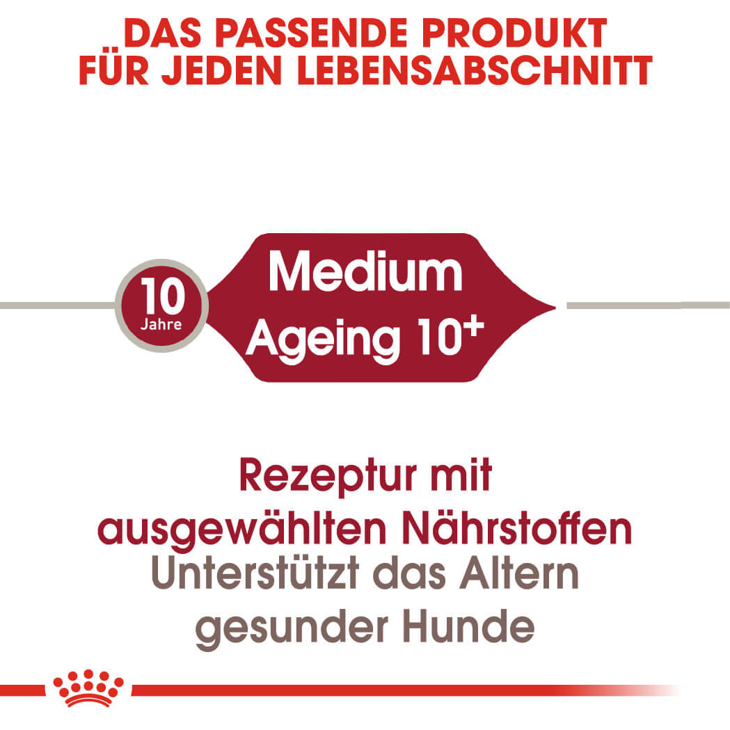 Royal Canin Medium Ageing 10+ Hundefutter