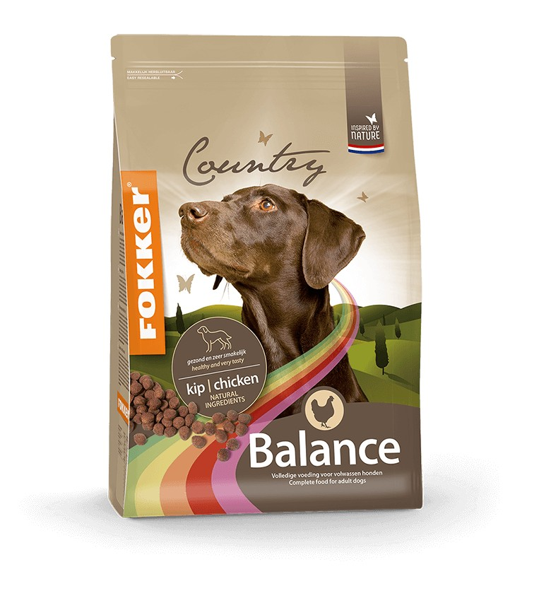 Fokker Country Balance Hundefutter