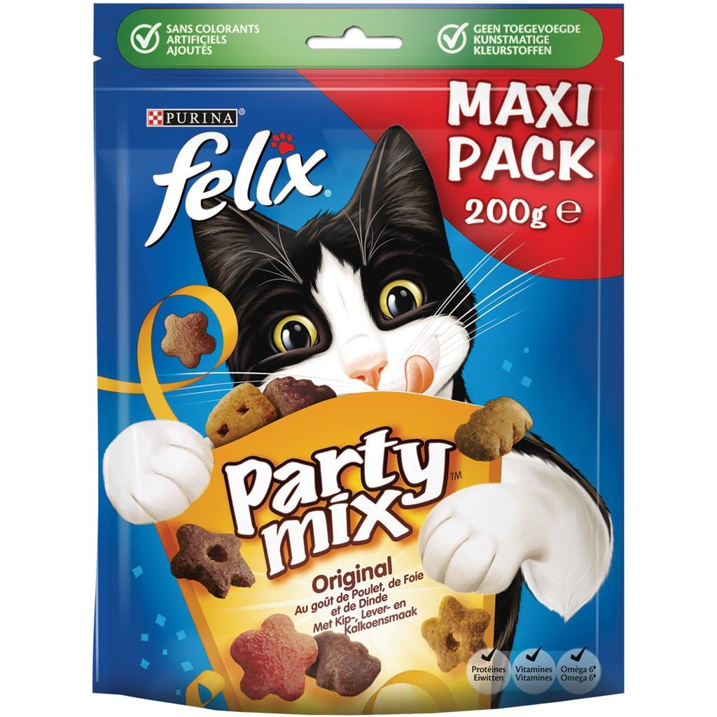 Felix Party Mix Original 200 gr kattensnoep