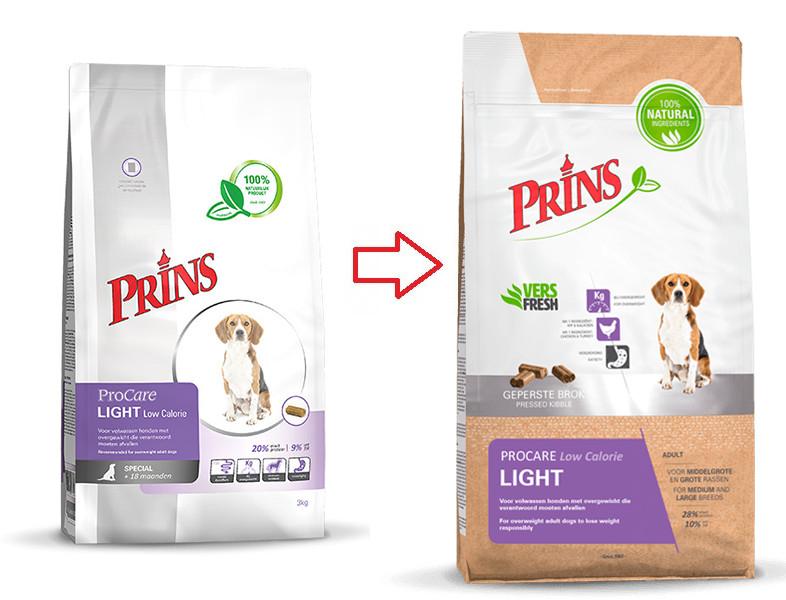 Prins ProCare Light Hundefutter
