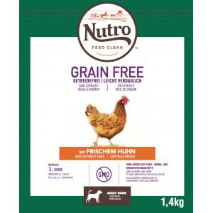 Nutro Grain Free Adult Medium Kip hondenvoer