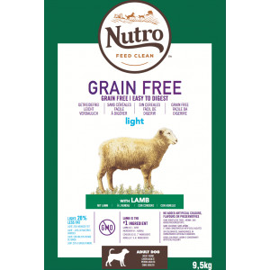 Nutro Grain Free Adult Light Lam hondenvoer