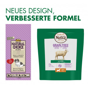 Nutro Choice Puppy Small & Medium Huhn & Reis Hundefutter