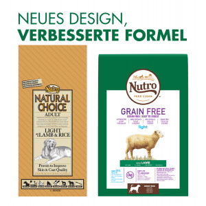 Nutro Choice Adult Light Lamm & Reis Hundefutter