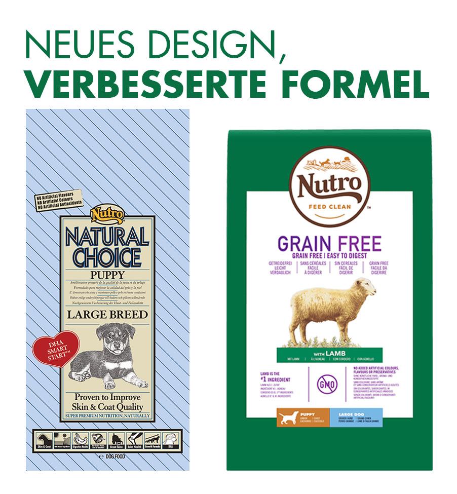 Nutro Grain Free Puppy Large Lam hondenvoer