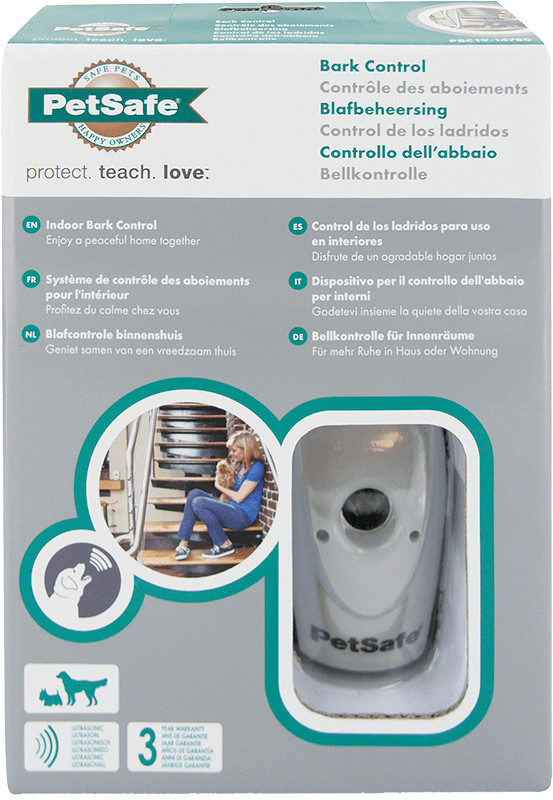 Petsafe Bark Indoor Control Ultrasonic Single Pack PBC19-14780 voor de hond
