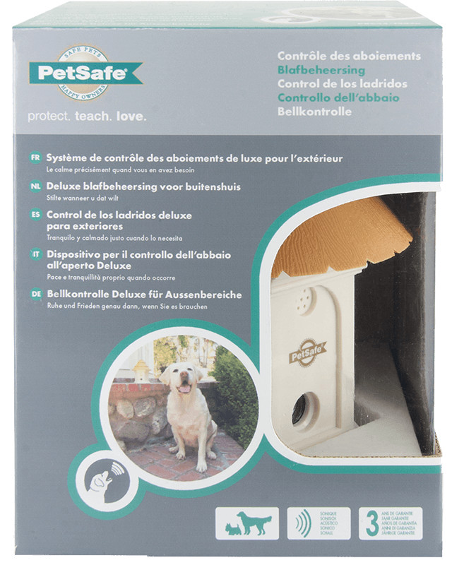 Petsafe Outdoor Bark Control Deluxe PBC45-13476 voor de hond