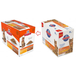 Hill's Adult Poultry Selection Pouch Katzenfutter