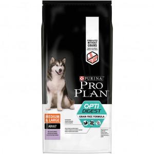 Pro Plan Optidigest Medium & Large Adult Sensitive Digestion Kalkoen Graanvrij hondenvoer