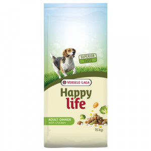 Happy Life Adult Chicken Dinner Hundefutter