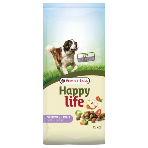 Happy Life Light/Senior Hundefutter