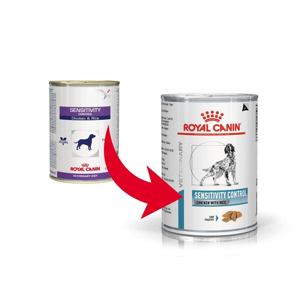 Royal Canin Sensitivity Control - Huhn & Reis Hundefutter (Dosen) 420g