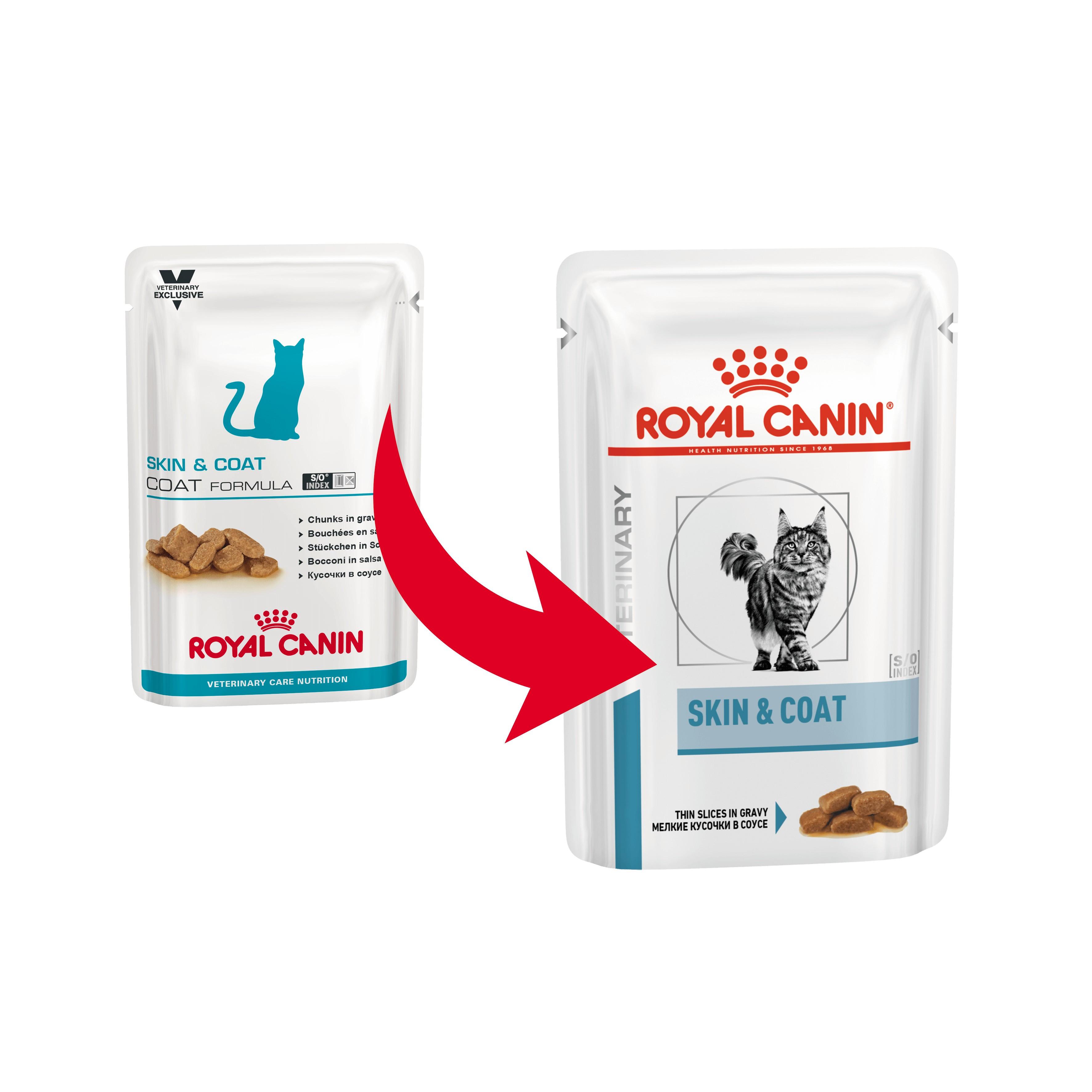 Royal Canin VCN Skin & Coat Katzen-Nassfutter