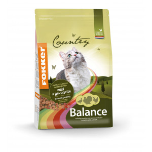 Fokker Country Balance Wild & Geflügel Katzenfutter