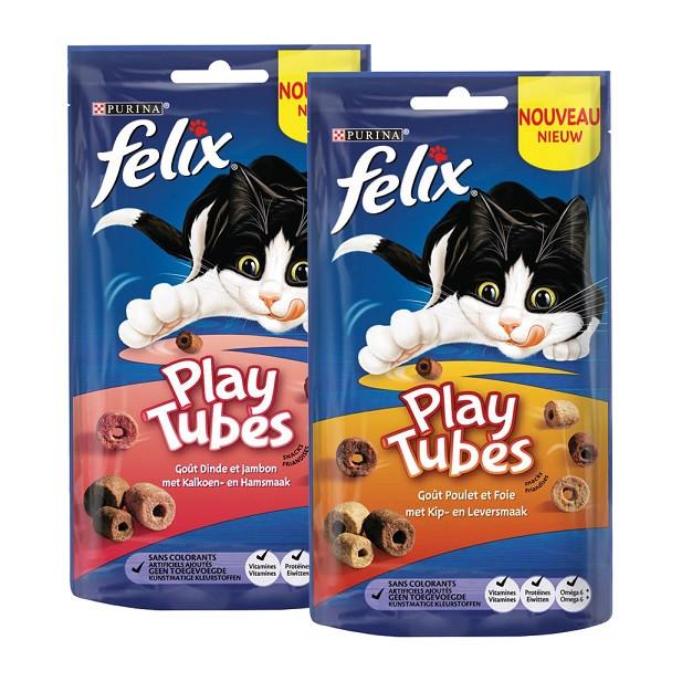 Felix Play Tubes Combipack kattensnoep