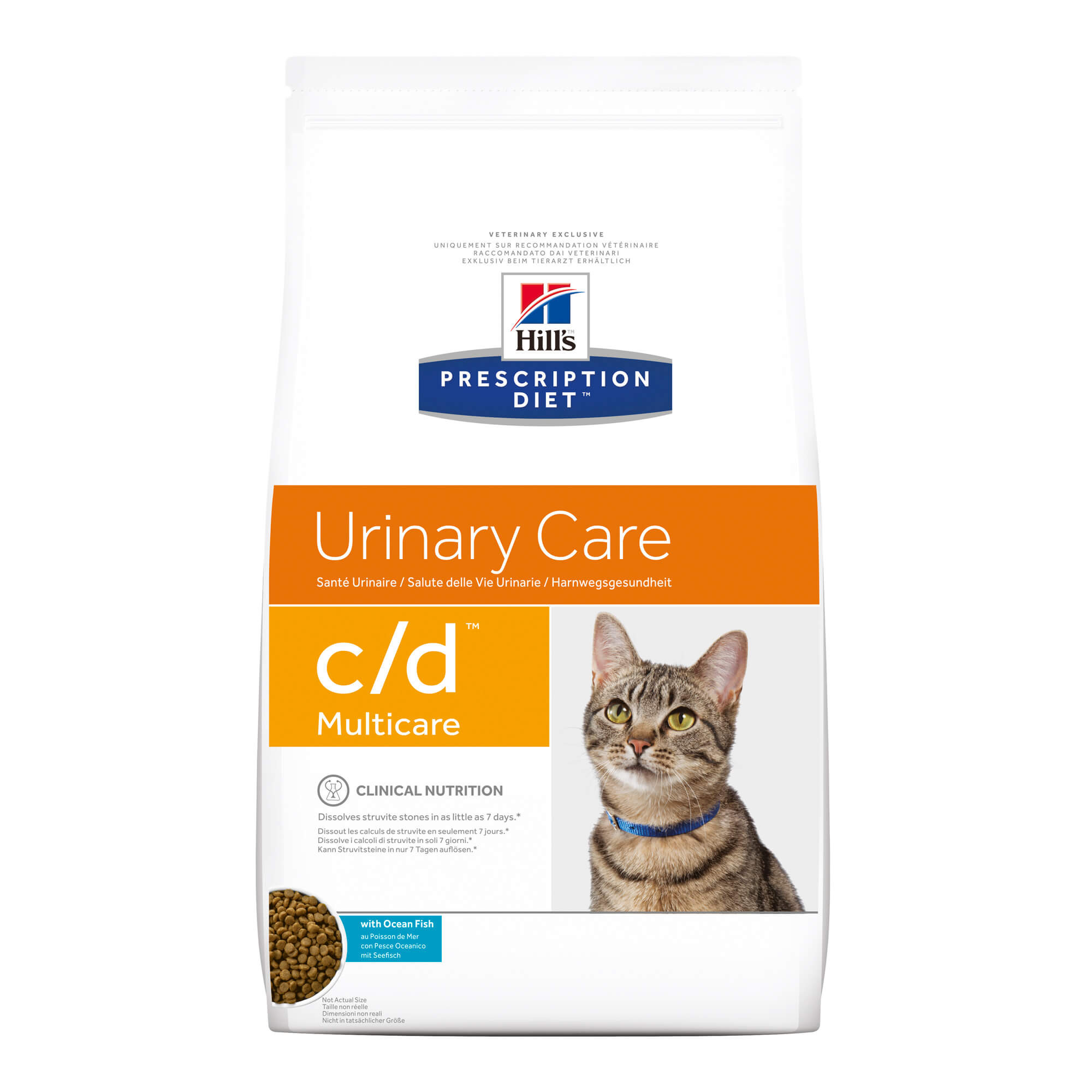 Hill's Prescription C/D Multicare Urinary Care Katzenfutter mit Fisch