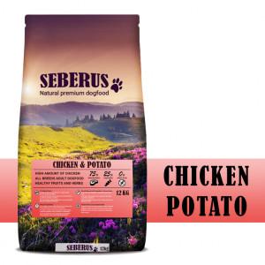 Seberus Chicken & Potato - natürliches, getreidefreies Hundefutter