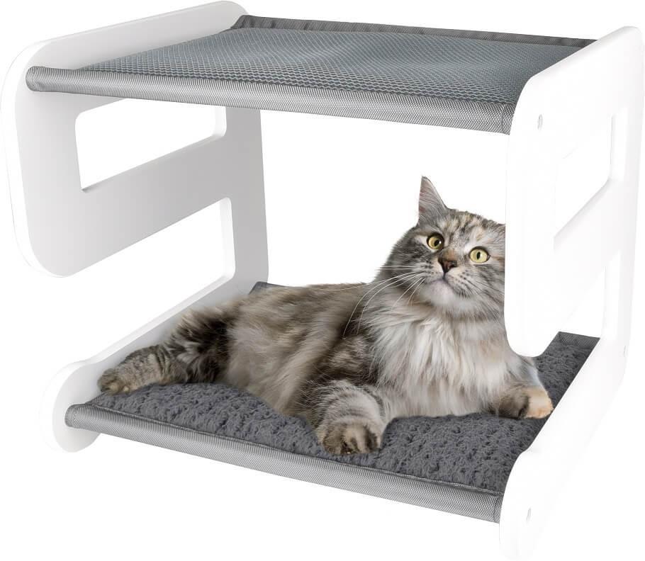 Kattenmeubel Nova Stapelbed Wit